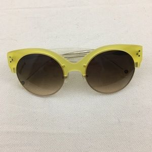 Anthro Jetlene limoncello sunglasses